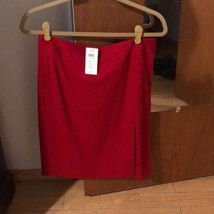 Red Cache skirt